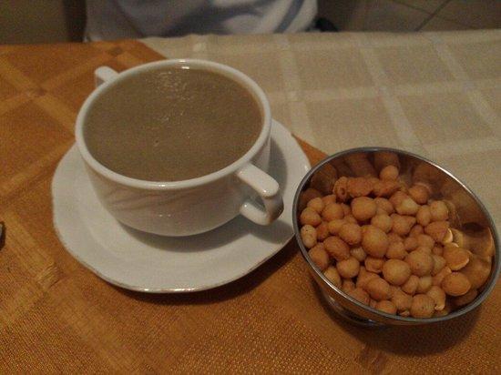 Monte-Carlo Restaurant : Mushroom soup