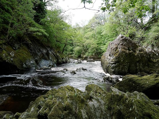 View downstream at Fairy Glen