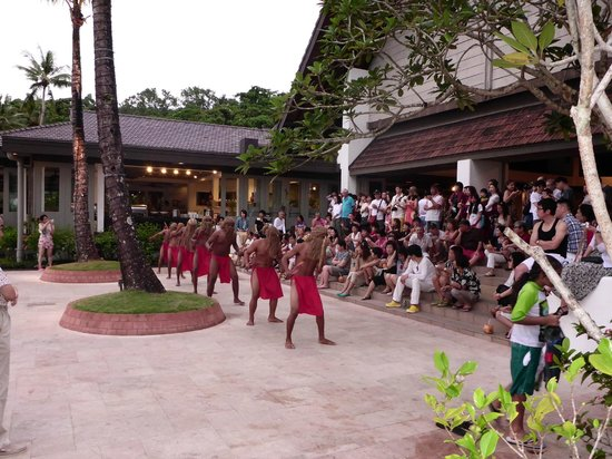 Palau Pacific Resort: Weekly party organised by management for guests