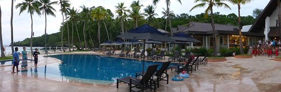 Palau Pacific Resort: Pool Area