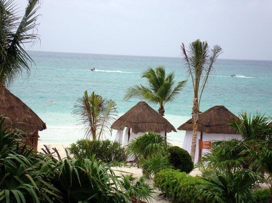 Secrets Maroma Beach Riviera Cancun: View from our room.
