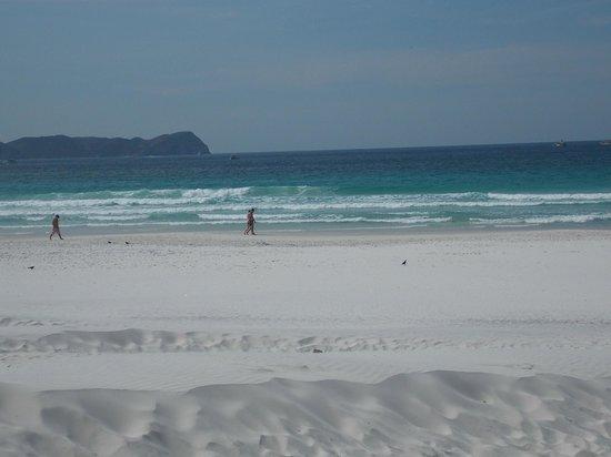 Forte Beach: areia belíssima!