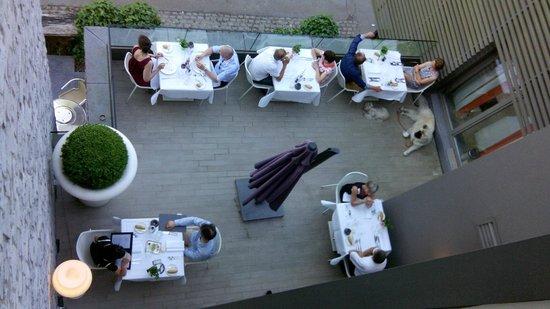 Le Sanglier Des Ardennes: restaurant onder ons