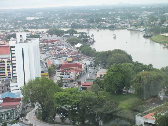 Pullman Kuching : View from the Club Lounge