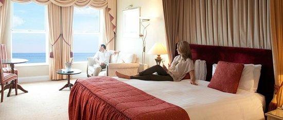 The Carlyon Bay: Deluxe sea facing room