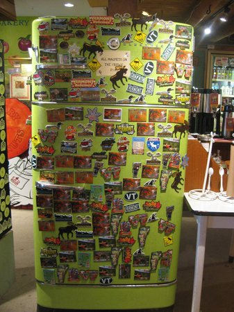 Cold Hollow Cider Mill : fridge with magnets for sale