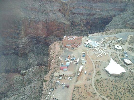 Grand Canyon Skywalk: Skywalk vista aérea