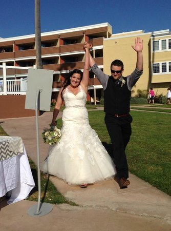 SeaCrest OceanFront Hotel: Whitney and Mitch at the Sea Crest