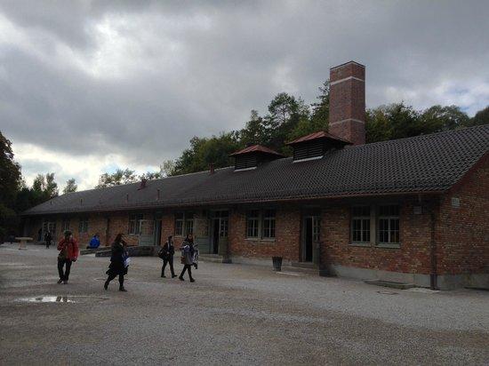 KZ-Gedenkstätte Dachau: Parte externa do crematório maior