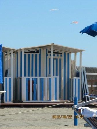 Ostia Antica: playa de ostia con 40°