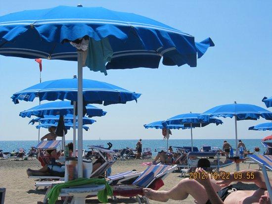 Ostia Antica: la playa de ostia