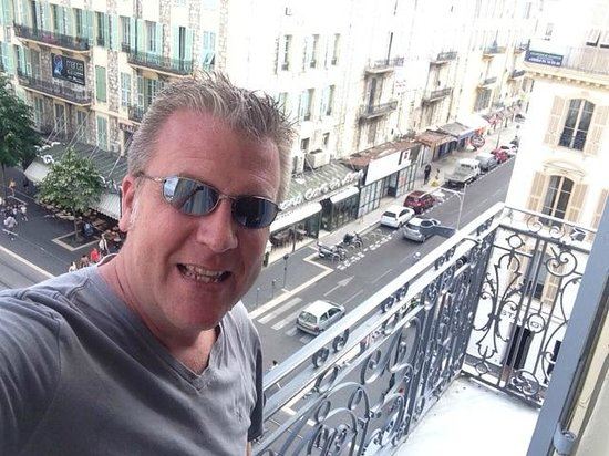 BEST WESTERN New York: Balcony view