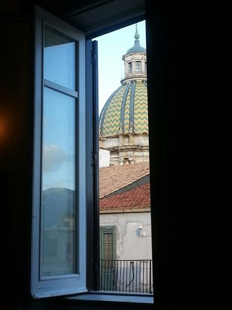 Eurostars Centrale Palace: View from our room
