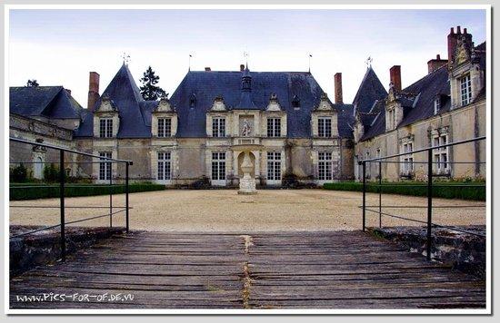 Château de Villesavin : Schlossansicht: Mitteltrackt