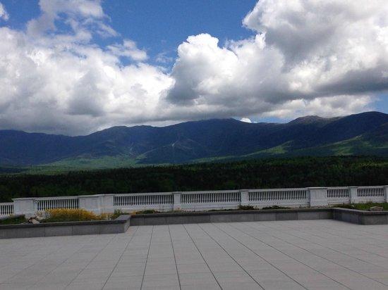 Omni Mount Washington Resort: View from top of Jewel Terrwace