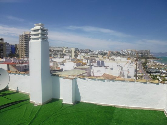 Hotel Mediterráneo Carihuela: Roof View