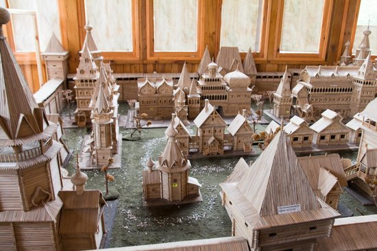 Museum of Wooden Architecture Forest Fortress