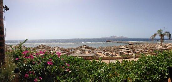 Cleopatra Luxury Resort Sharm El Sheikh: vista dalla mia camera