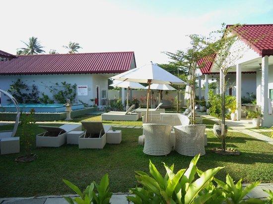 Langkawi Chantique Resort: Unsere Aussicht von der Terrasse