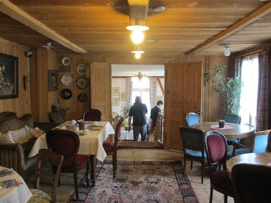 Hotel-Restaurant Alpenblick : Breakfast room