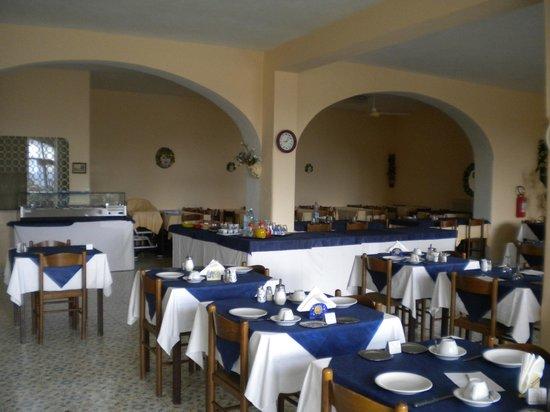 Hotel Terme Vinetum: sala ristorante e colazioni