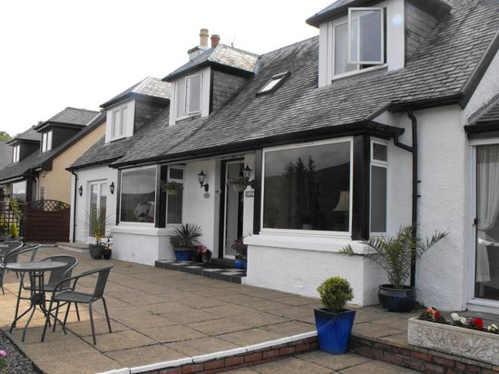 Hillview Guesthouse : View from the front of Hillview