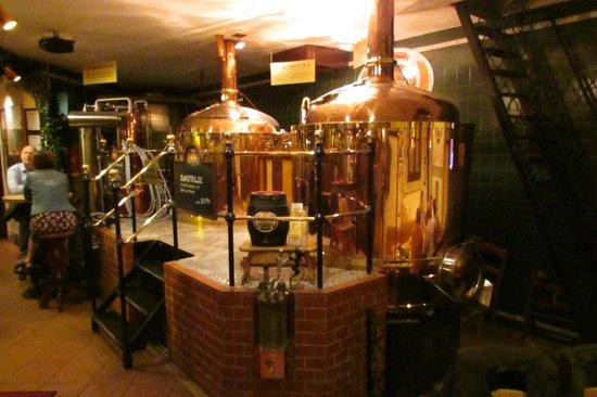 Salm Bräu: Brewery