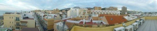 Hotel Mediterráneo Carihuela: Roof View