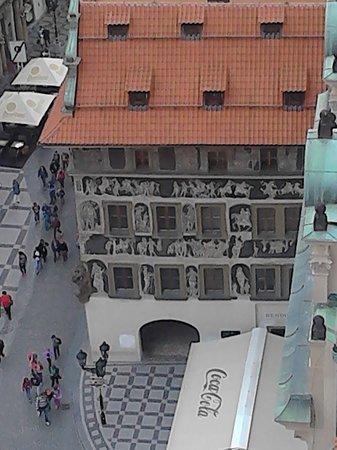 Prague Marriott Hotel: Vista aerea