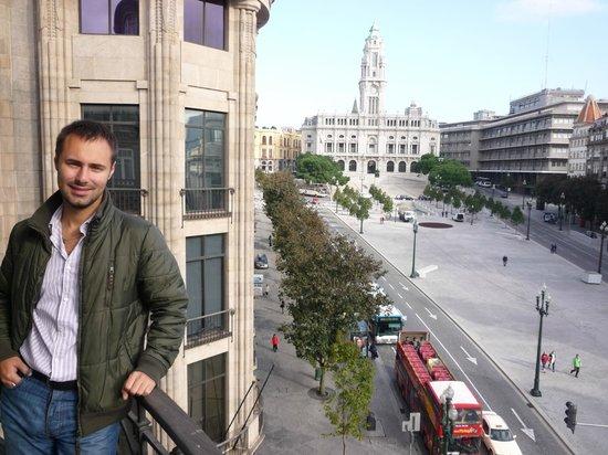 Hotel Aliados: Тот самый вид