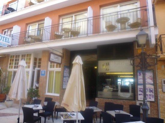 Hotel Mediterráneo Carihuela: Restaurant for Breakfast