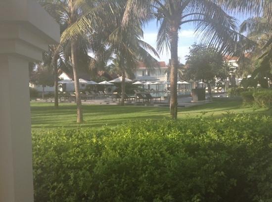 Boutique Hoi An Resort: uitzicht vanuit onze villa