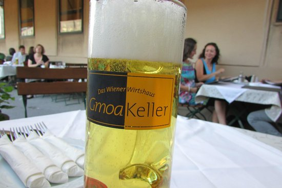 Gmoakeller: My beer