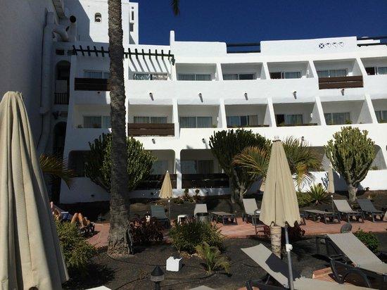 H10 Timanfaya Palace: hotelkamer