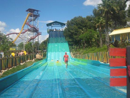 PortAventura Caribe Aquatic Park: random water slide