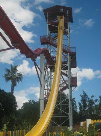 PortAventura Caribe Aquatic Park: The tallest slide in Euope