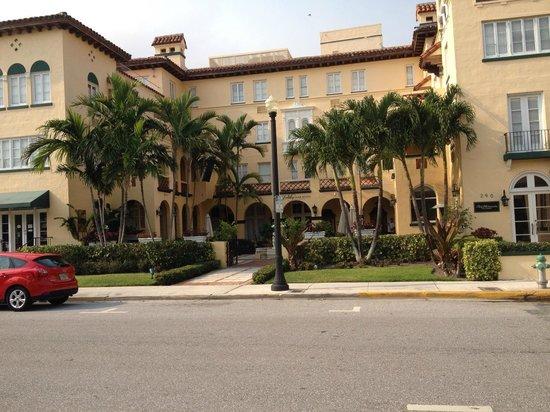 Bradley Park Hotel: Entrance to the hotel