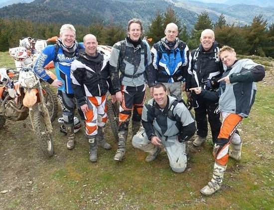 Riders of the Lost Trail - Guided Off Road Motorcycle Trail Tours: Riders of The Lost Trail - Group from Holland