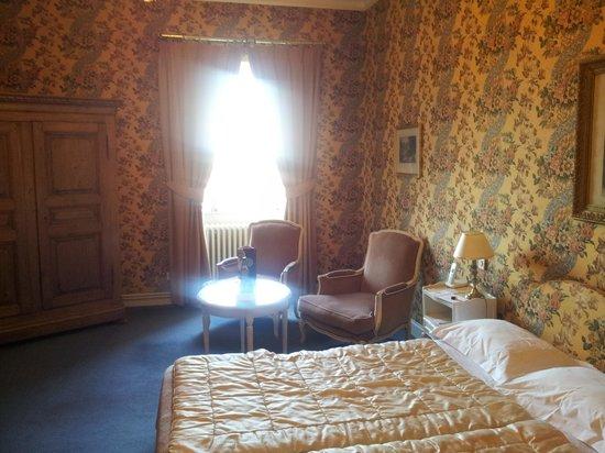 Chateau d'Isenbourg: Chambre côté Rouffach
