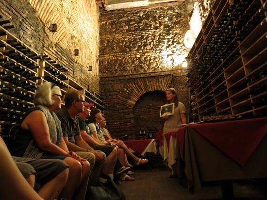 Eating Italy Food Tours: in the cellar