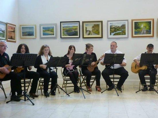 The Playhouse Ukulele Band. Exhibition
