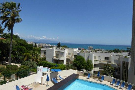 Hapimag Resort Antibes: Blick von der Dachterrasse