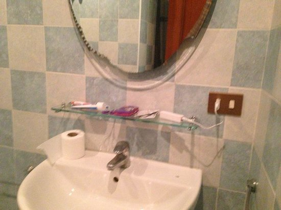 La Ripetta: salle de bain