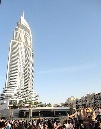 Dubai City Day Tour The Address Downtown Hotel