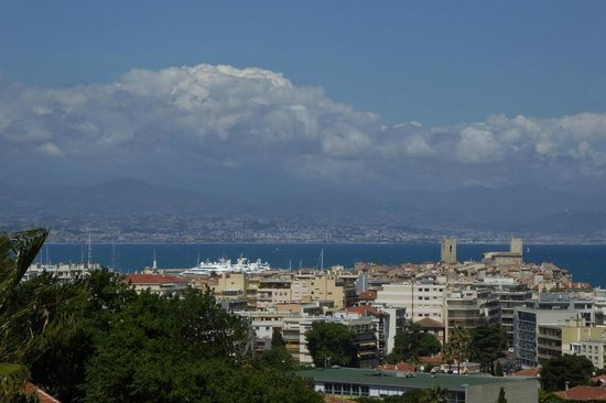 Hapimag Resort Antibes: Blick auf Antibes, Cagnes und Nizza