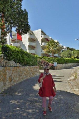 Hapimag Residenz Antibes : Hanglage
