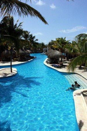 Iberostar Paraiso Beach: a small part of the pool complex