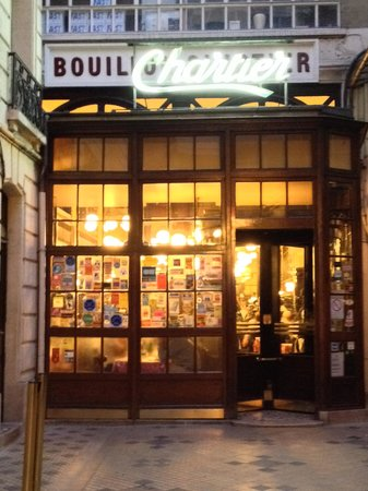 Le Bouillon Chartier : ingresso del locale
