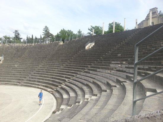 Vaison la Romaine : teatro de la vaison de romaine