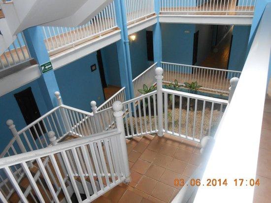 Hotel Riu Playacar: Las escaleras